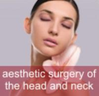 Estetic surgery of the head and neck